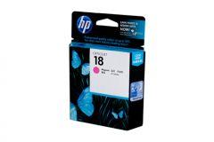 HP #18 Genuine Magenta Ink Cartridge C4938A - 900 pages