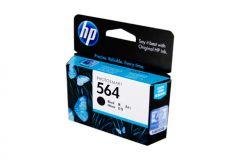HP #564 Genuine Black Ink Cartridge CB316WA - 250 pages