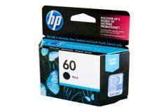 HP #60 Genuine Black Ink CC640WA - 200 pages