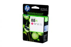 HP #88XL Genuine Magenta Ink Cartridge C9392A - 1,980 pages