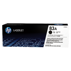 HP #83A Genuine Black Toner Cartridge CF283A - 1,500 pages