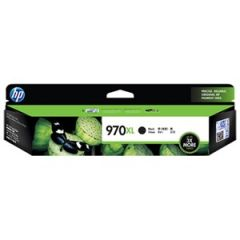 HP #970XL Genuine Black High Yield Ink Cartridge CN625AA - 9,200 pages