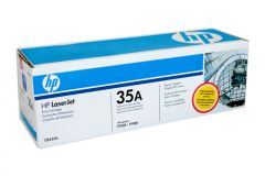 HP #35A Genuine Black Toner CB435A - 1,500 pages