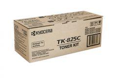 Kyocera TK825 Genuine Cyan Toner - 7,000 pages