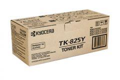 Kyocera TK825 Genuine Yellow Toner - 7,000 pages