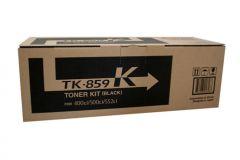 Kyocera TK859 Black Toner - Prints up to 25,000 pages