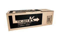 Kyocera TK869K Black Toner - 20,000 pages