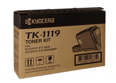 Kyocera TK-1119 Toner Cartridge on an angle