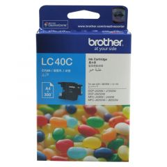 Brother LC40 Genuine Cyan Ink Cartridge - up to 300 pages