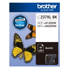 Brother LC237XL Genuine Black Ink Cartridge - Up to 1,200 pages