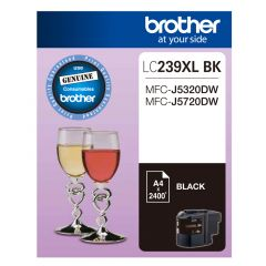 Brother LC239XL Genuine Black Ink Cartridge - Up to 2,400 pages