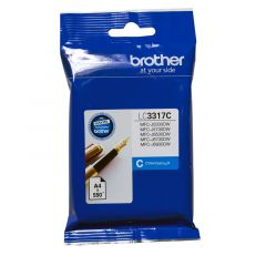 Brother LC3317 Genuine Cyan Ink Cartridge - up to 550 pages