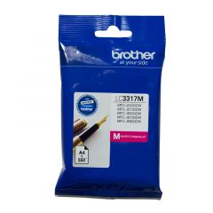 Brother LC3317 Genuine Magenta Ink Cartridge - up to 550 pages