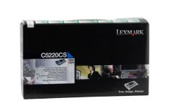 Lexmark C5220CS Cyan Prebate Cartridge - 3,000 pages