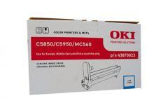 Oki 5800/C5900/C5550MFP Genuine Cyan Drum Unit 20,000 pages (43870027)