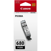 Canon PGI680 Genuine Black Ink Cartridge - 200 pages