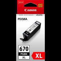 Canon PGI670XL Genuine Black Ink Cartridge
