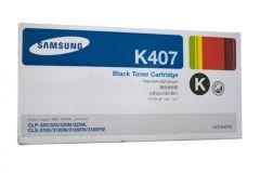 Samsung CLTK407S Genuine Black Toner - 1,500 pages