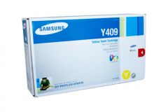 Samsung CLTY409S Genuine Yellow Toner - 1,000 Pages