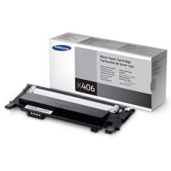 Samsung CLTK406S Genuine Black Toner - 1,500 pages