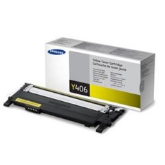 Samsung CLTY406S Genuine Yellow Toner - 1,000 pages