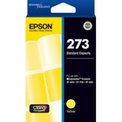 Epson 273 Genuine Yellow Ink Cartridge - 300 pages