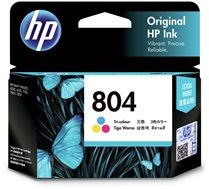 HP #804 Genuine Colour Ink T6N09AA - 165 pages