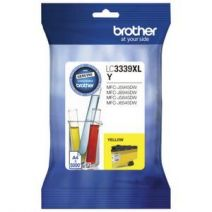 Brother LC-3339XLY Genuine High Yield Yellow Ink Cartridge - 5,000 pages