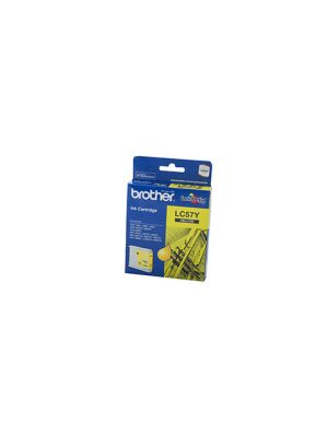 Brother LC57 Genuine Yellow Ink Cartridge - 400 pages
