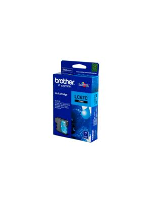 Brother LC67 Genuine Cyan Ink Cartridge - 325 pages