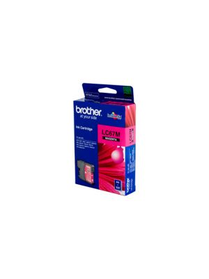 Brother LC67 Genuine Magenta Ink Cartridge - 325 pages