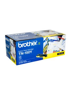 Brother TN150 Genuine Yellow Toner Cartridge - 1,500 pages