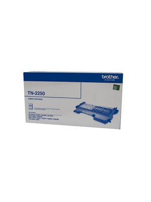 Brother TN2250 Genuine Toner Cartridge - 2,600 pages