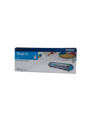 Brother TN251 Genuine Cyan Toner Cartridge - 1,400 pages