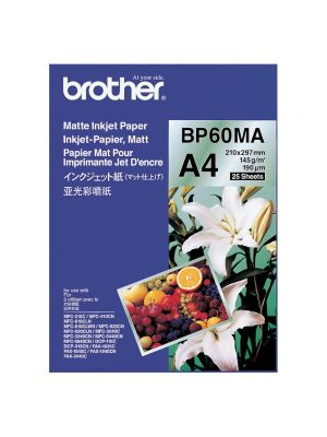 Brother BP60MA Matte Paper - 25 sheets