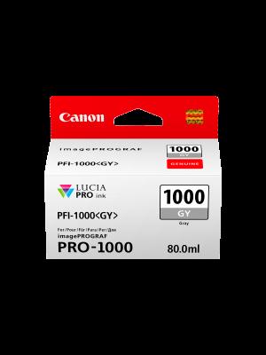 Canon PFI1000 Genuine Grey Ink Cartridge
