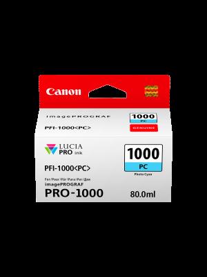 Canon PFI1000 Genuine Photo Cyan Ink Cartridge