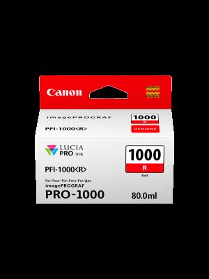 Canon PFI1000 Genuine Red Ink Cartridge