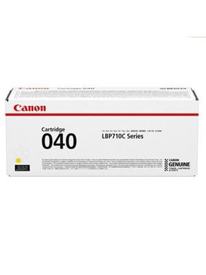 Canon CART040 Genuine Yellow Toner Cartridge - 5,400 pages