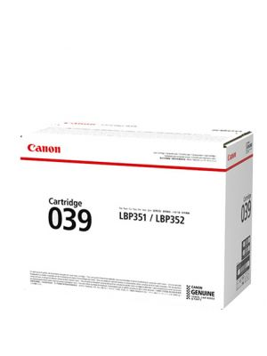Canon CART039 Genuine Black Toner Cartridge - 6,000 pages