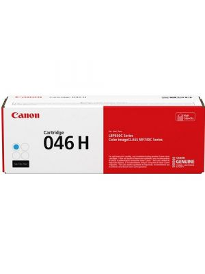 Canon CART046 Genuine Cyan High Yield Toner Cartridge - 5,000 pages