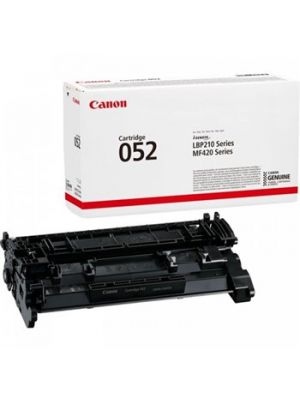 Canon CART052 Genuine Black Toner - 3,100 pages