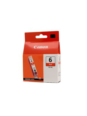 Canon BCI6R Genuine Red Ink Tank - 100 pages