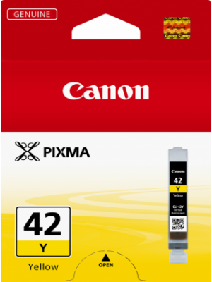 Canon CLI42 Genuine Yellow Ink Cartridge - 51 pages A3+