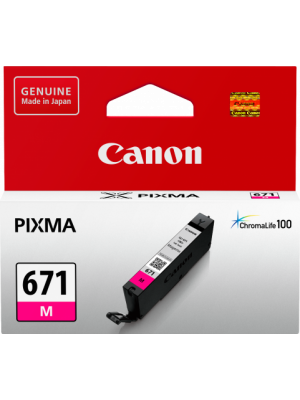 Canon CLI671 Genuine Magenta Ink Cartridge