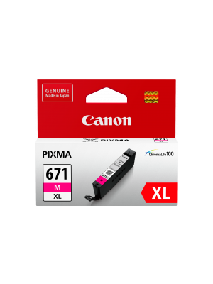 Canon CLI671XL Genuine Magenta Ink Cartridge