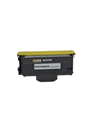 Eco-Friendly Envirotech, Brother TN2150 Remanufactured Black Cartridge - 2,600 pages (Australian Made)