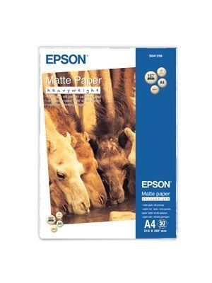 Epson S041256 A4 Matte H/W Paper. 50 Sheets