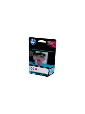 HP #02 Genuine Magenta Ink Cartridge C8772WA - 350 pages