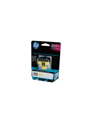 HP #02 Genuine Yellow Ink Cartridge C8773WA - 350 pages